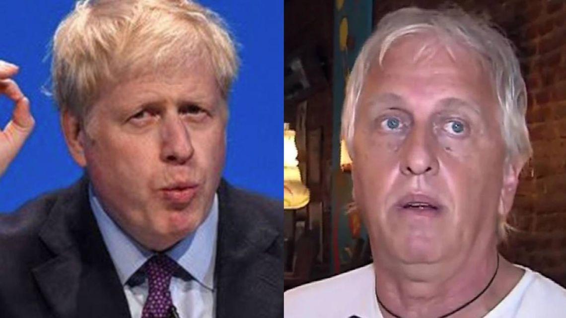 Andrés Nara, muy parecido a Boris Johnson.