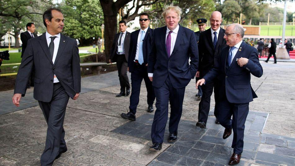 Boris Johnson Buenos Aires 23072019