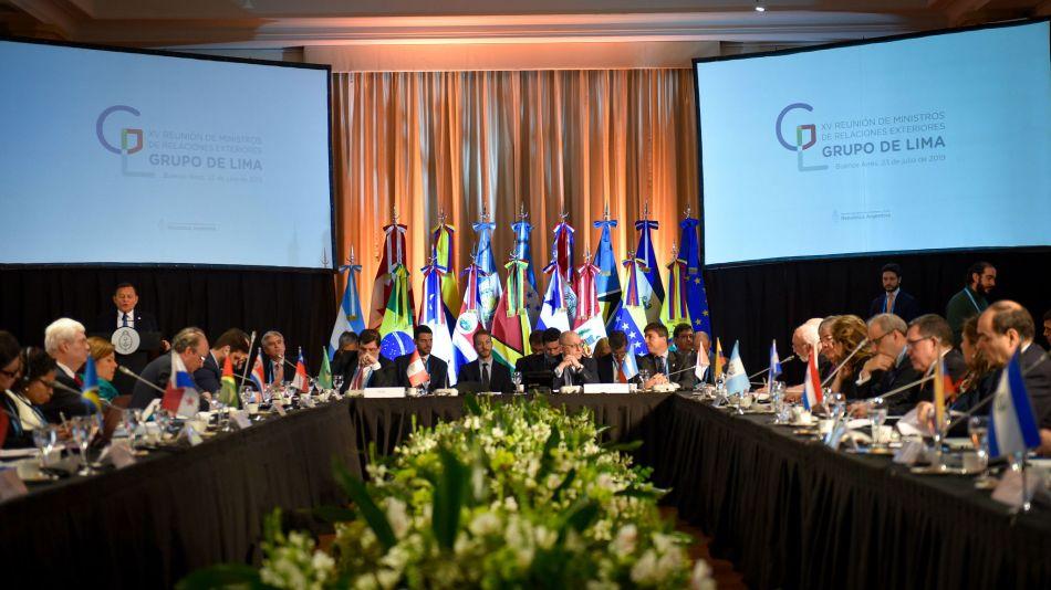 Grupo de Lima en Buenos Aires