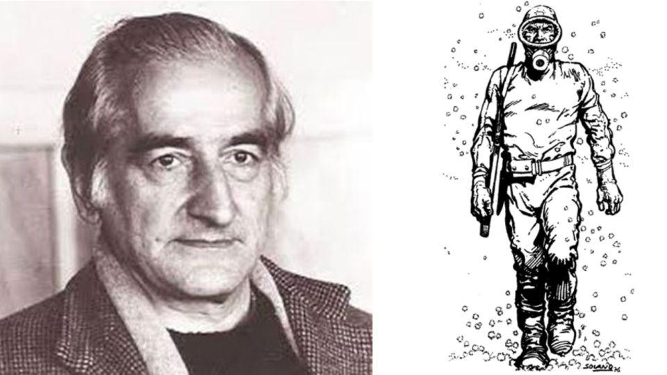 Héctor Germán Oesterheld, autor deEl Eternauta, una obra emblemática de la historieta argentina que continúa reeditándose en varios idiomas.