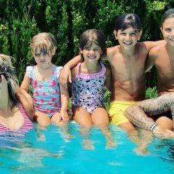 El amoroso gesto de los hijos de Maxi López y Wanda Nara con Mauro Icardi