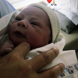 La primera foto de Benjamín, el hijo recién nacido de Marcelo Gallardo