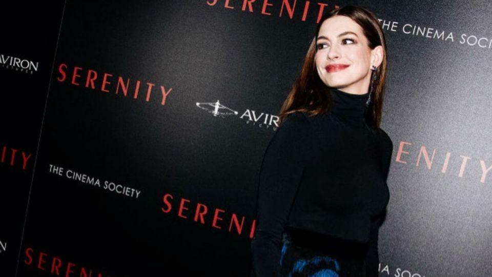 Anne Hathaway anunció su segundo embarazo con una tierna foto