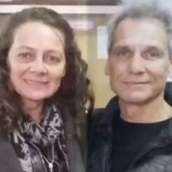 Raúl Taibo junto a Claudia Zucco