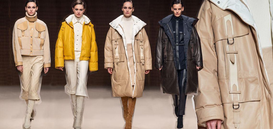 La parca: el abrigotendencia del invierno impuesta por Hermés
