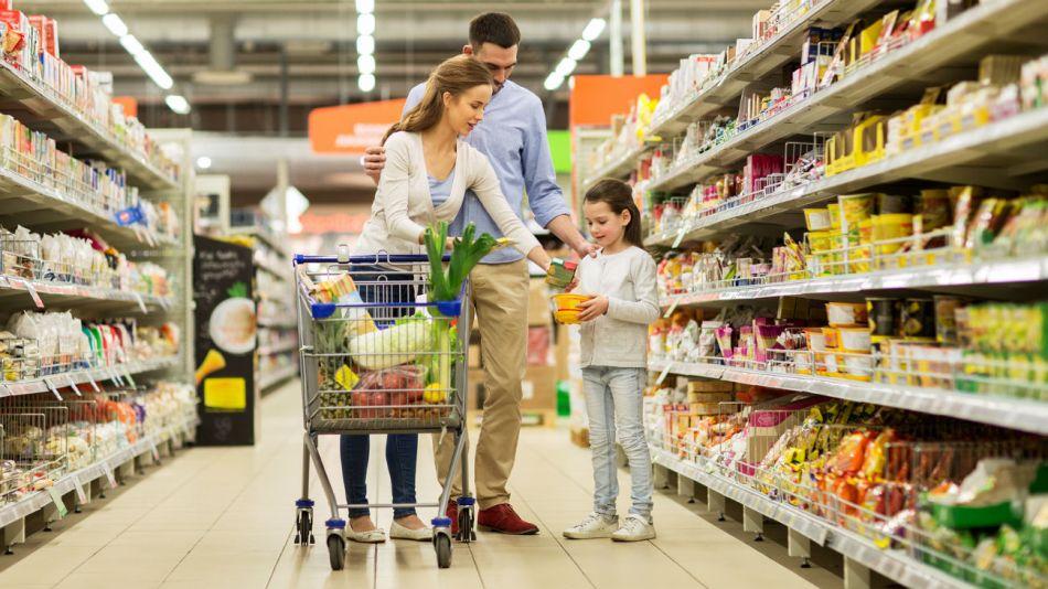 La canasta de consumo masivo sigue en picada