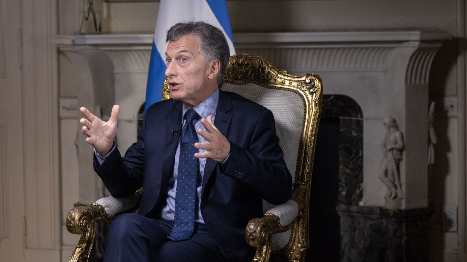 Argentina President Mauricio Macri Interview