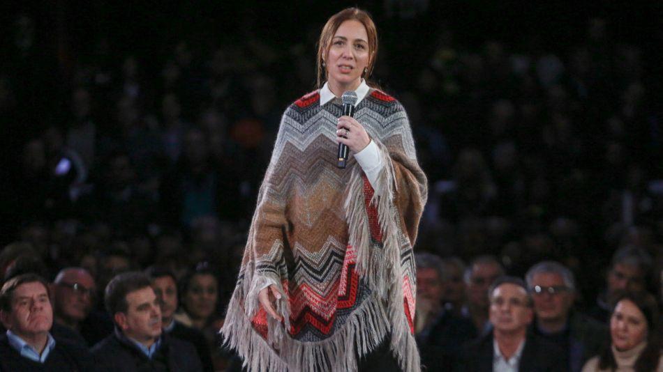 María Eugenia Vidal en Mar del Plata.