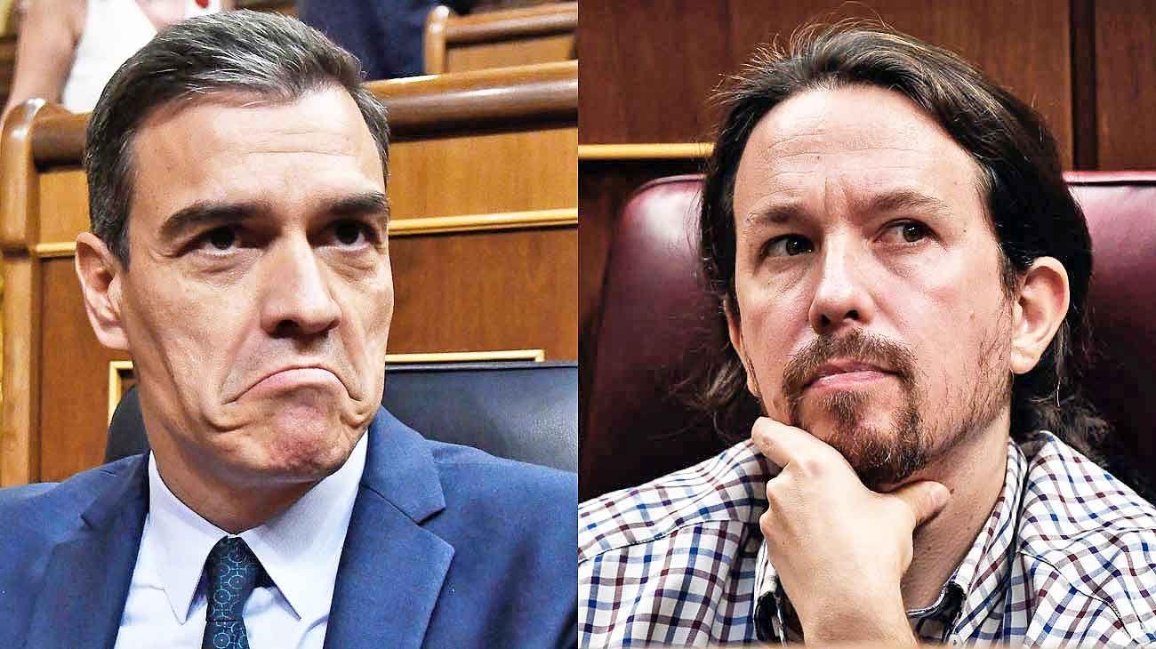 Sin acuerdo. El PSOE comunicó ayer al rey Felipe la falta de acuerdo en el Parlamento para investir un Ejecutivo. Pablo Iglesias, líder de Unidas Podemos, consideró insuficiente la oferta de Pedro Sánchez.