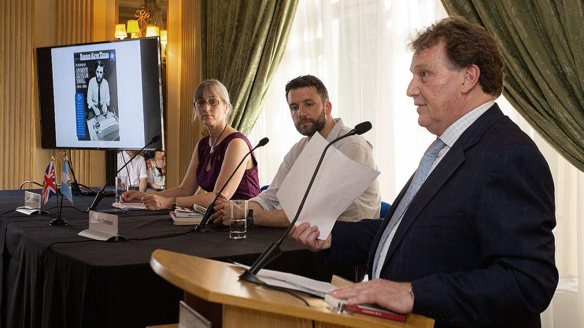 Argentina's Ambassador to London, Carlos Sersale di Cerisano pays tribute to Andrew Graham-Yooll.