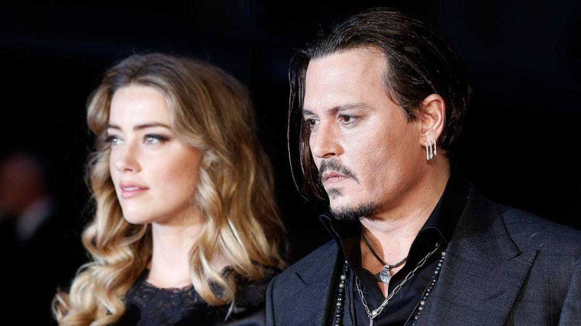 Johnny Depp hizo una fuerte denuncia contra su ex, Amber Heard