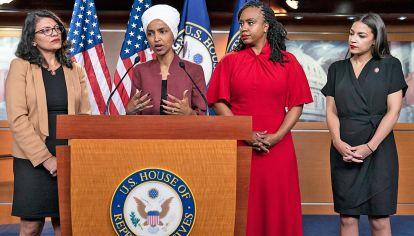 Ataque racista. De Trump a cuatro legisladoras recientemente elegidas para el Congreso de EE.UU.