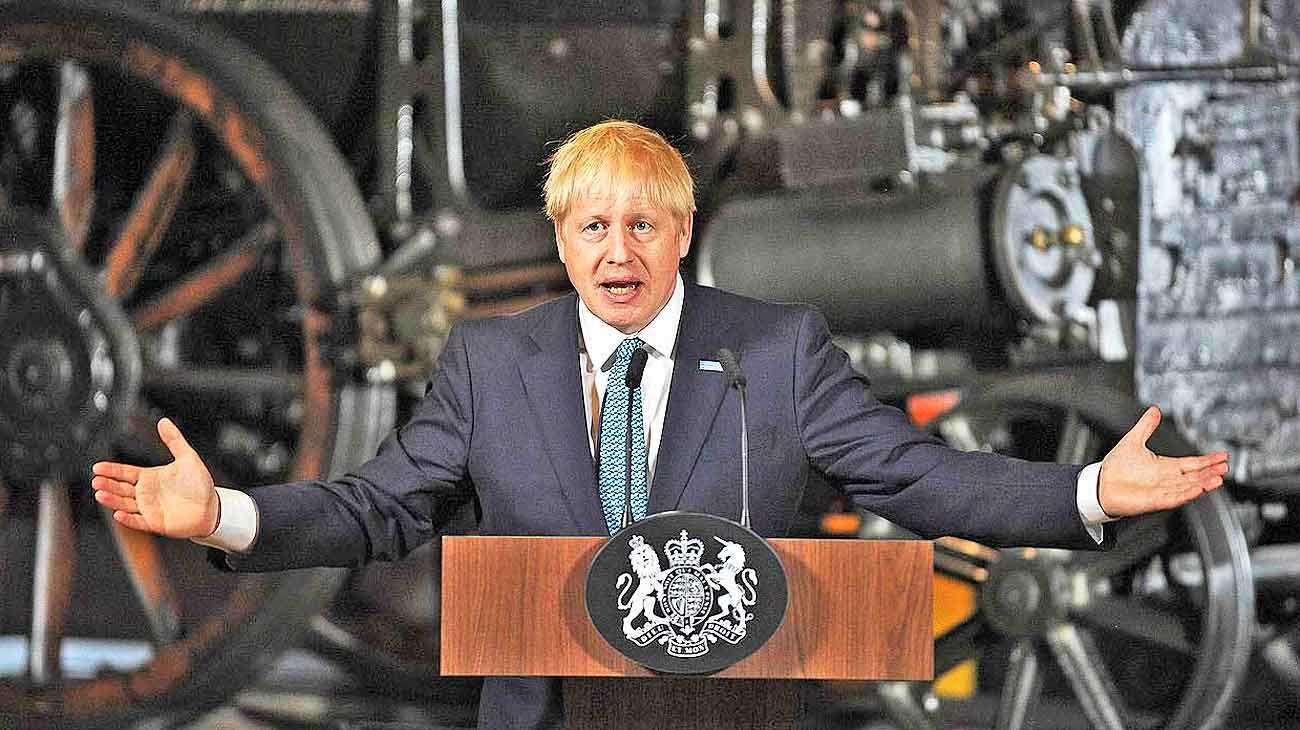 Boris Johnson diseña su plan para concretar el Brexit del Reino Unido