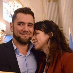 Mercedes Funes, orgullosa y enamorada de Cecilio Flematti