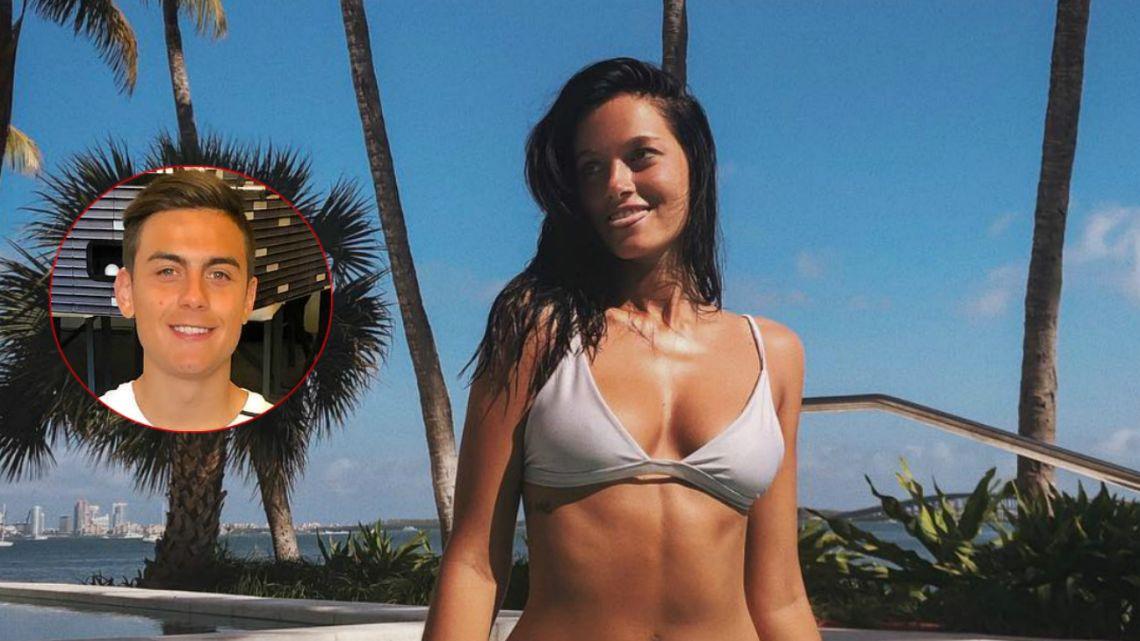 Oriana Sabatini hizo un desnudo total y calentó a Paulo Dybala
