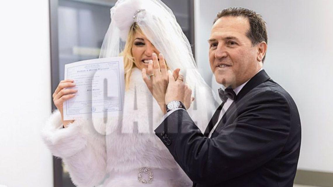 Vicky Xipolitakis y Javier Naselli: aseguran que se casaron y tuvieron un hijo por contrato
