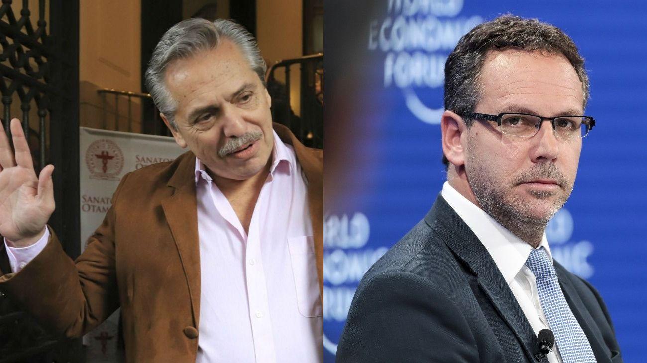 Alberto quiere tasas más bajas. El Central busca contener las presiones cambiarias.