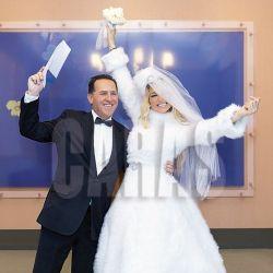 Javier Naselli y Vicky Xipolitakis se casaron en febrero de 2018