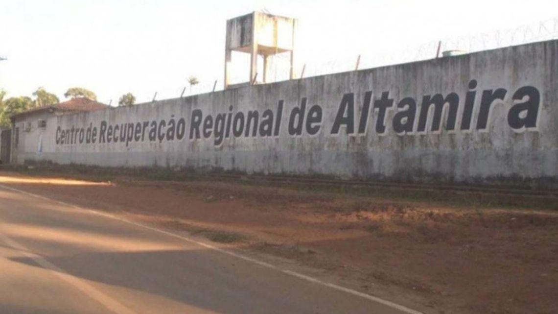 The Regional Recuperation Center of Altamira where a prison riot left 52 dead