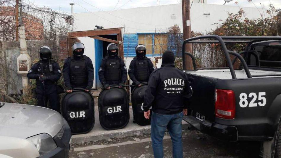 Policía de investigación de Chubut