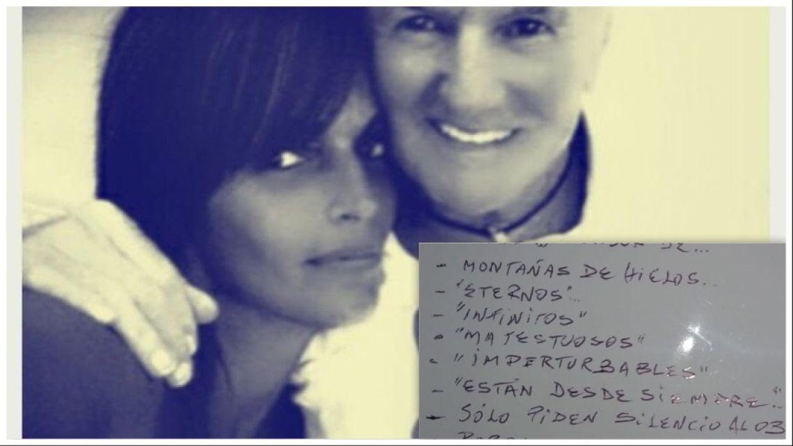 EL último poema de Sergio Denis antes de su trágico accidente