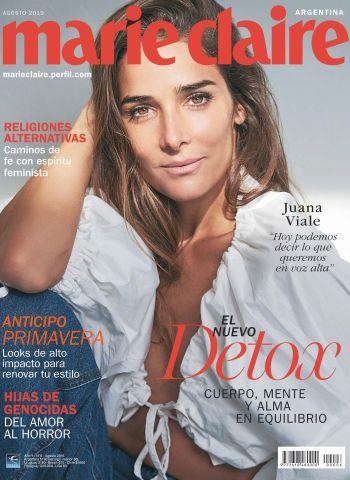 Juana Viale en el sexto número de Marie Claire