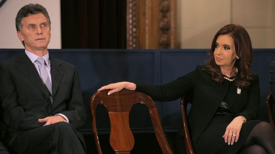 Mauricio Macri y Cristina Fernández de Kirchner