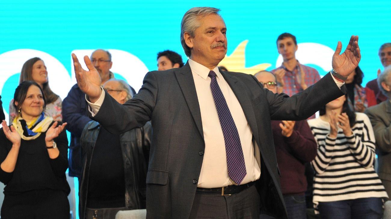 Alberto Fernández elogió a Nielsen, criticó a Macri y habló otra vez del dólar