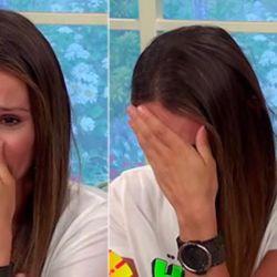 Pampita se quebró desconsoladamente ante las cámaras tras conocer una dura noticia