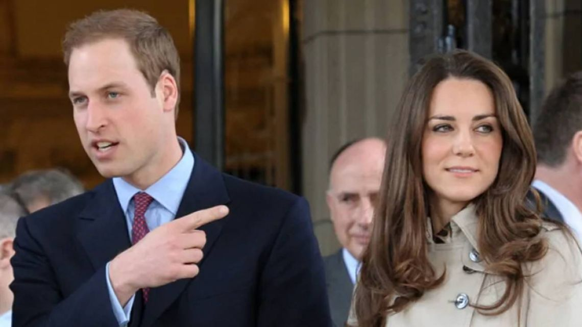El príncipe William y Kate Middleton