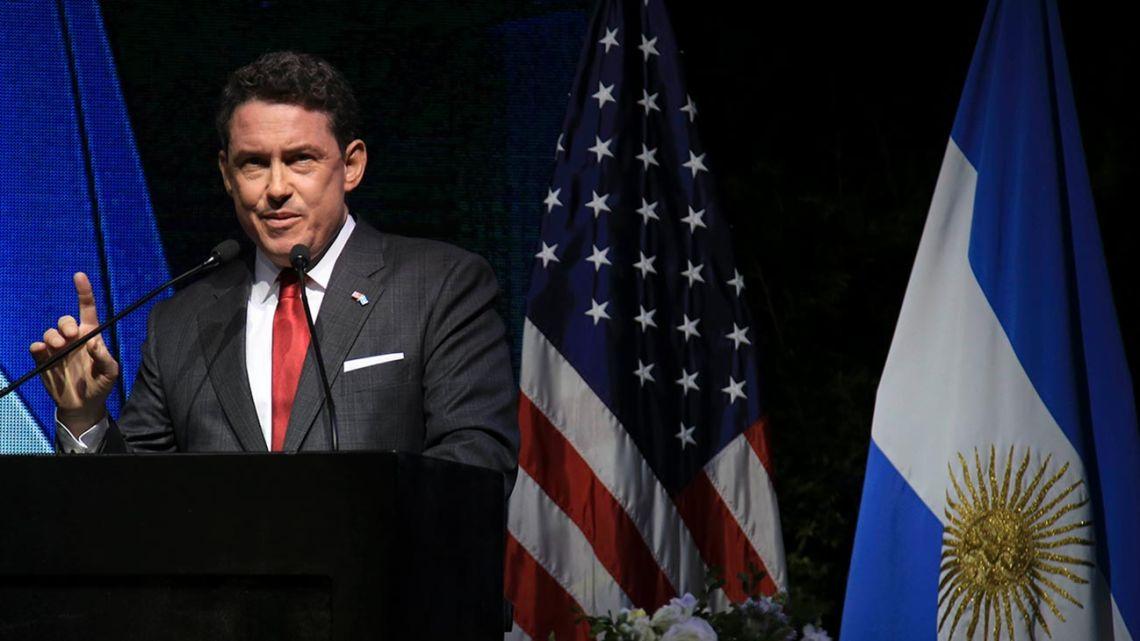 Former US Ambasador to Argentina Noah Mamet.