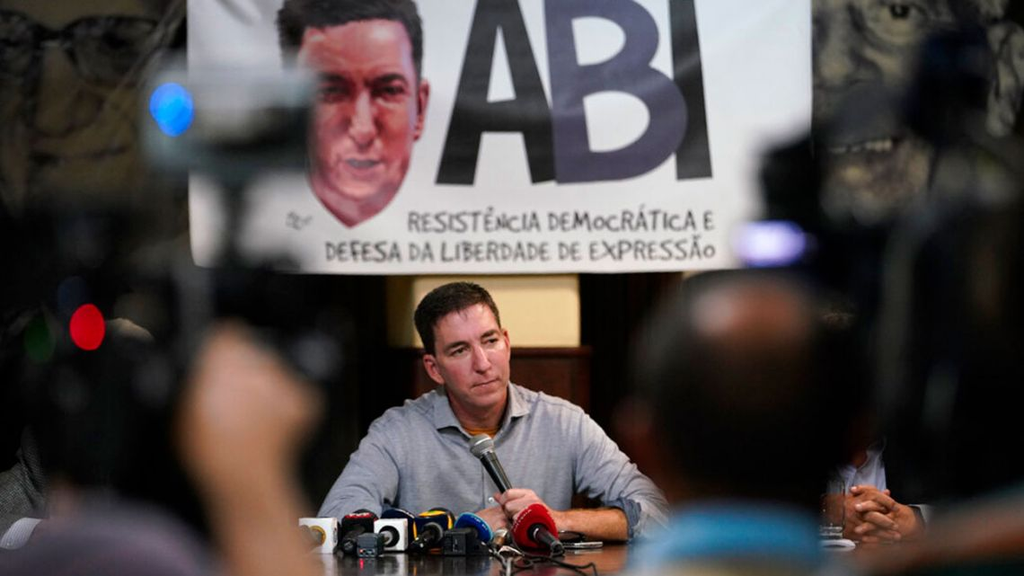 Intercept Brazil editor Glenn Greenwald has faced threats of arrest by the Brazilian government for publishing leaked messages between the country's justice minister and prosecutors in the case of former president Lula da Silva