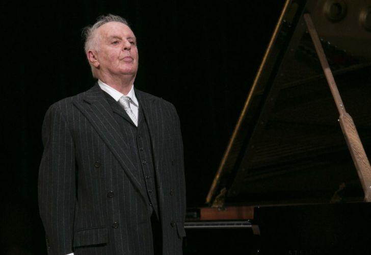 El director y pianista argentino-israelí Daniel Barenboim.