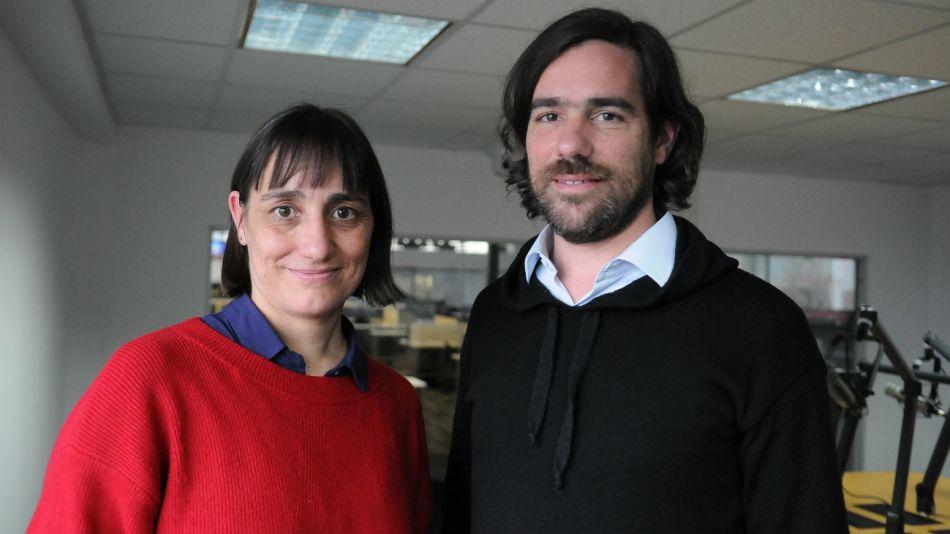 Romina del Plá y Nicolás del Caño en Radio Perfil