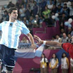argentina chile handball panamericanos @PrensaCOA 06082019