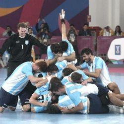 argentina chile handball panamericanos1 @PrensaCOA 06082019