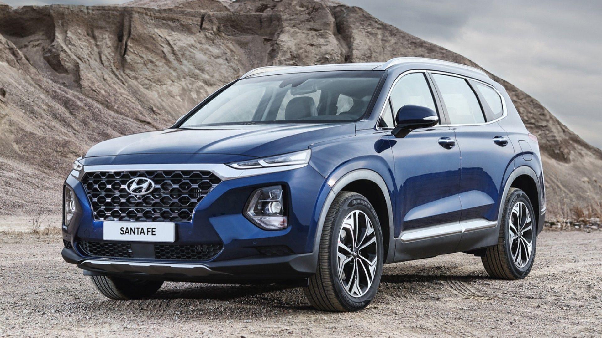 Parabrisas Asi Es El Nuevo Hyundai Santa Fe