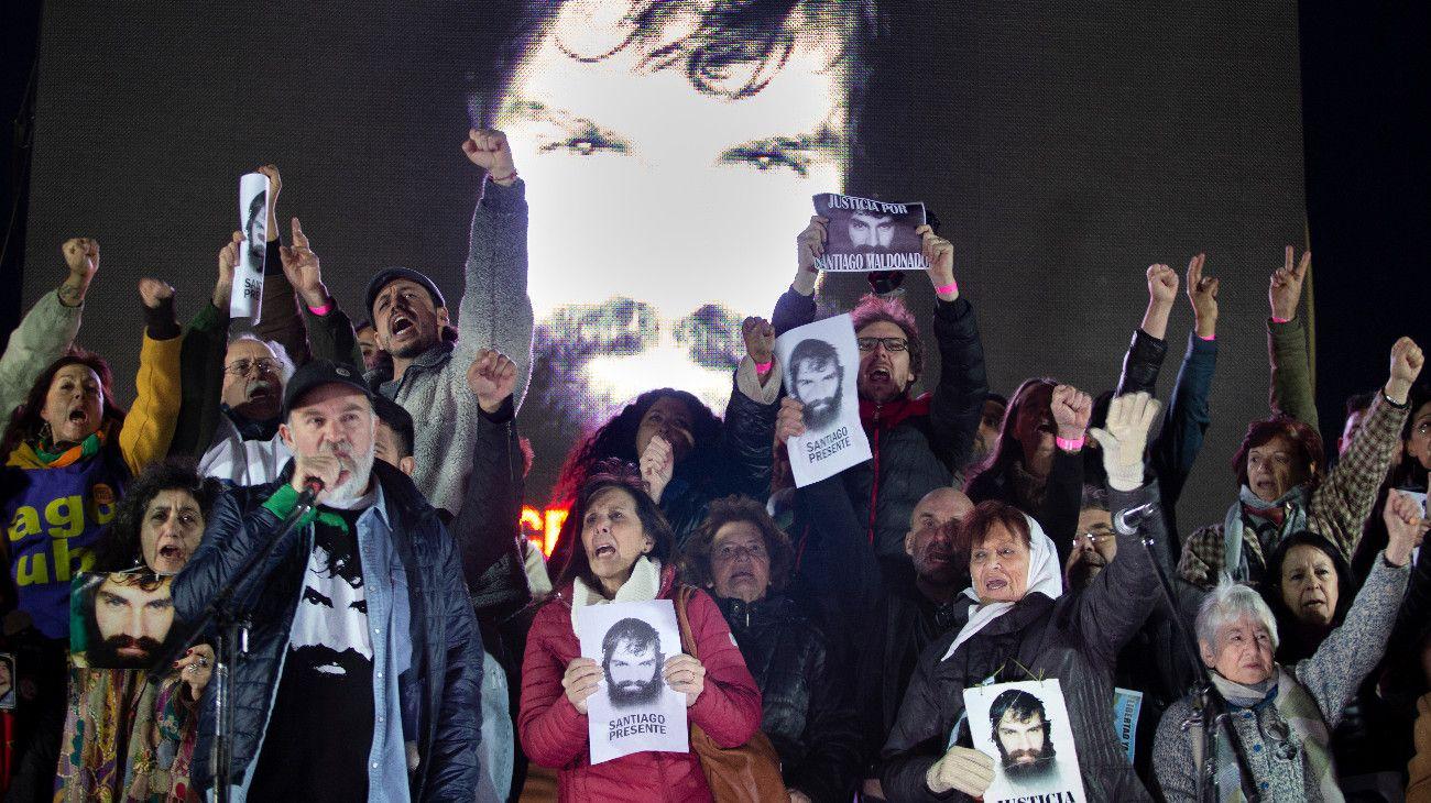 """Sergio Maldonado: """"Santiago estuvo desaparecido 78 días para aleccionar"""""""