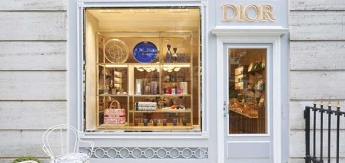 Descubrí la nueva tienda de Diordedicada al hogar en París