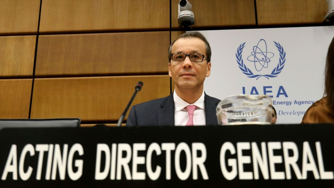 Acting Director General of the International Atomic Energy Agency (IAEA).