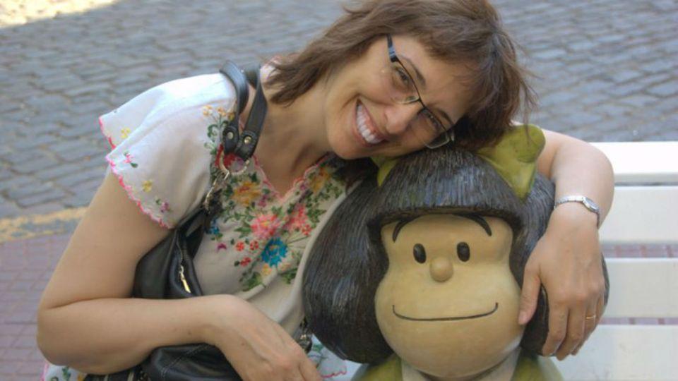Sandra Pitta se autodefine como