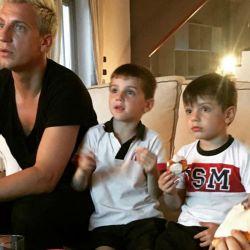 El desgarrador mensaje de Maxi López para los hijos que tuvo con Wanda