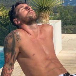 La foto en torso de Leo Messi que volvió locas a sus fans y se volvió viral