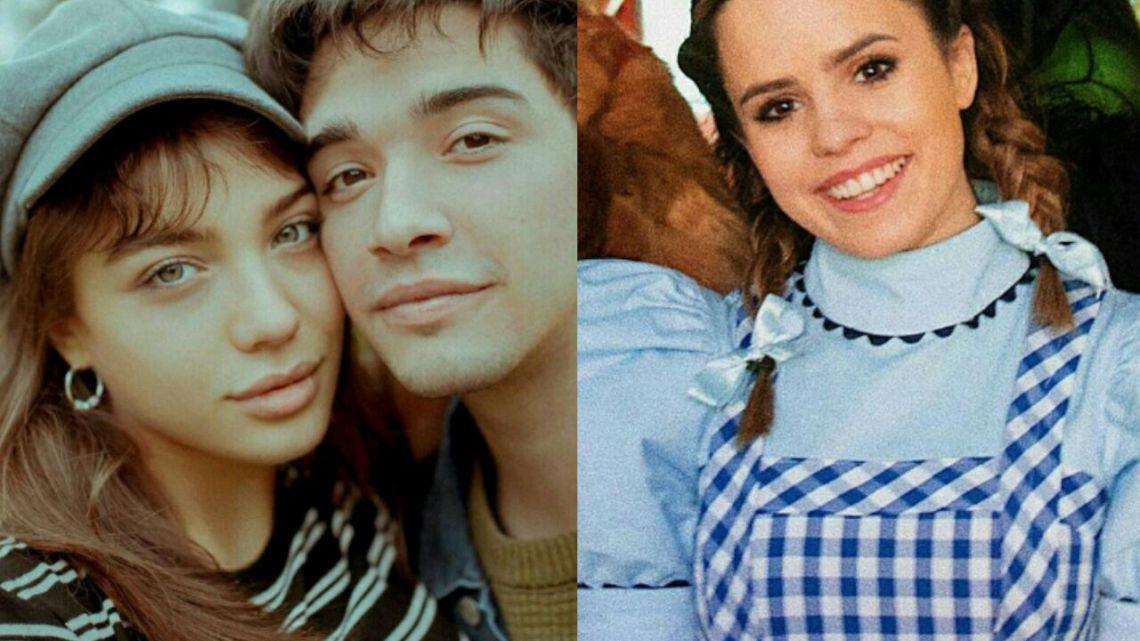 Malena Narvay y Julián Serrano fueron a ver a Sofi Morandi al teatro