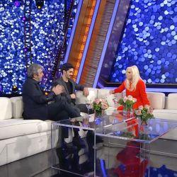 Susana Giménez junto a Ricardo y el Chino Darín