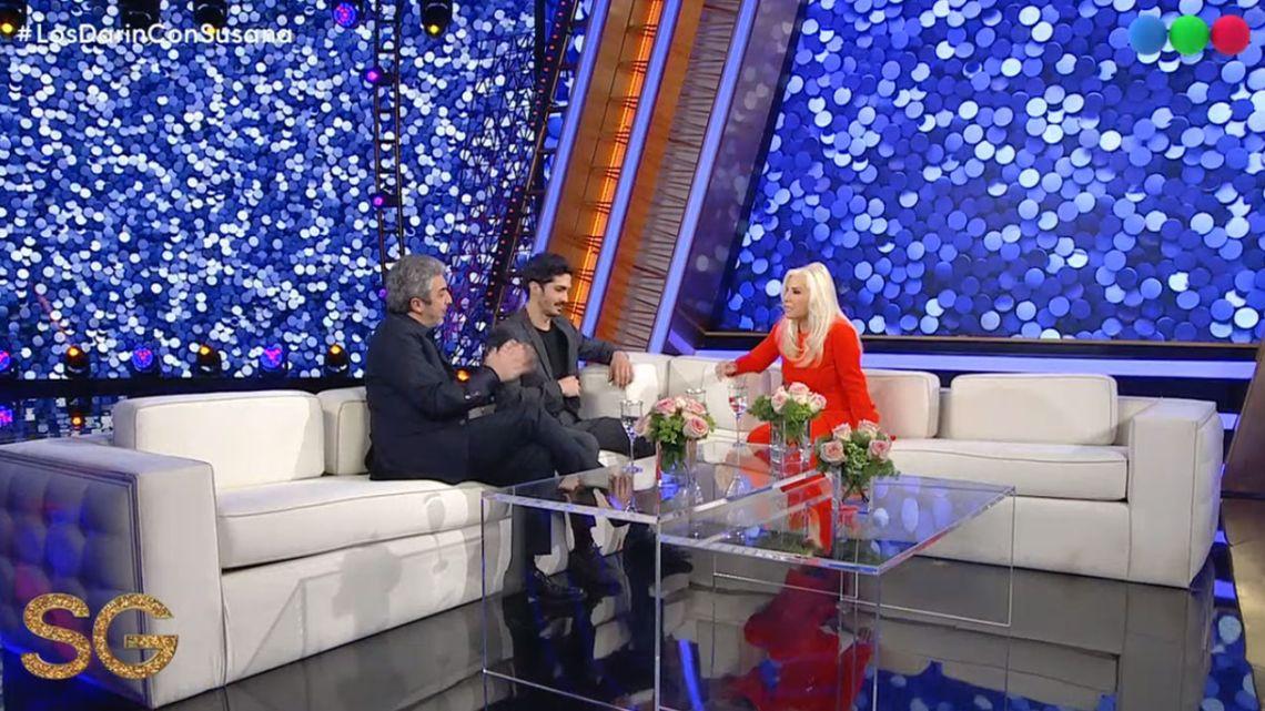 Susana Giménez reveló la desopilante anécdota de cuando conoció al Chino Darín