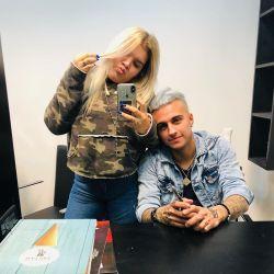 Morena Rial y su nuevo novio cambiaron de look, ¡con tatuaje incluído!