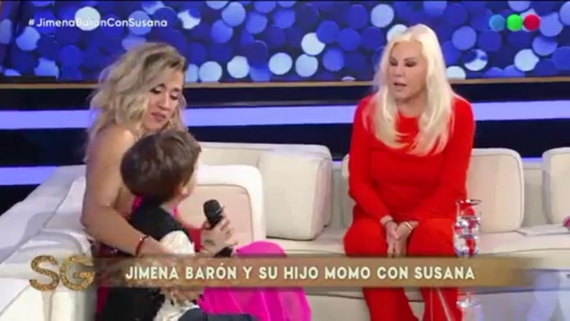 Jimena Barón sorprendió con una charla íntima con Susana Giménez