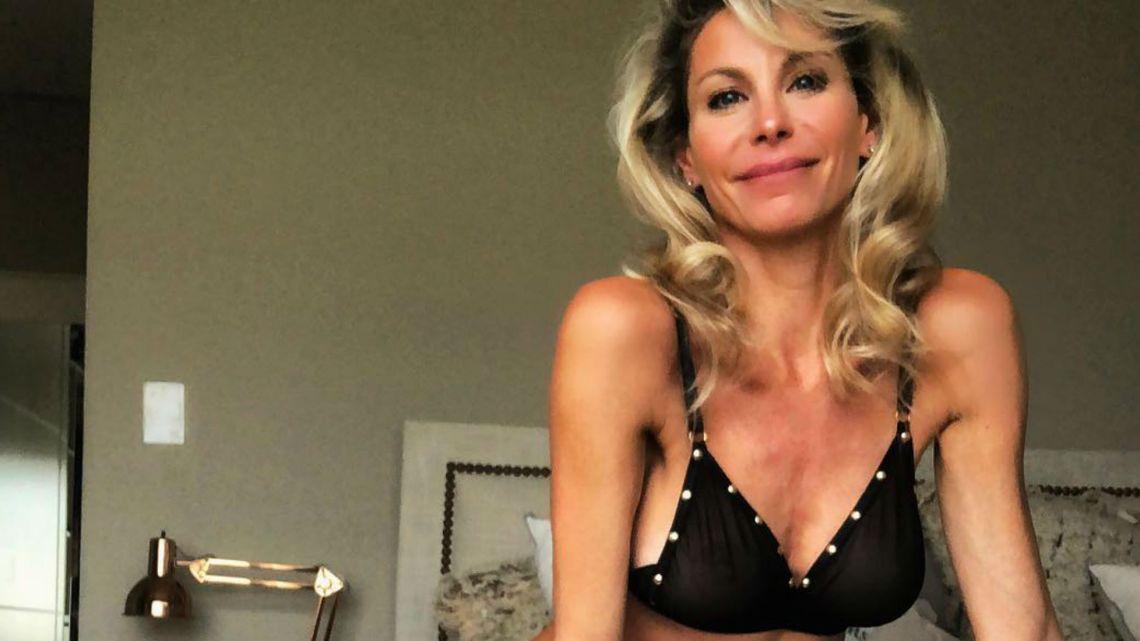 Jimena Cyrulnik incendió las redes en ropa interior de encaje