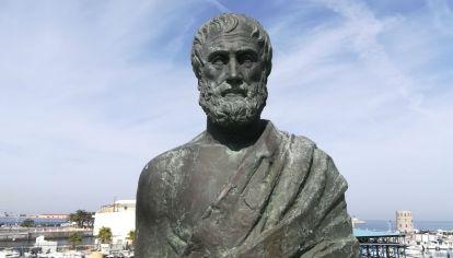 Aristóteles (Estagira, 384 a. C. - Calcis, 322 a. C.).
